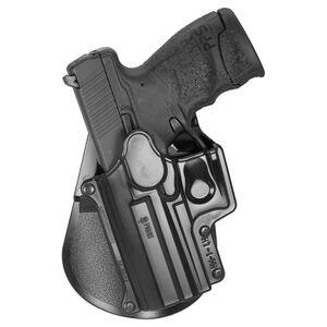 Fobus Holster H&K USP/Ruger SR9/Taurus PT140/Walther PPS M2 Left Hand Paddle Attachment Polymer Black