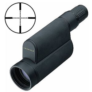 Leupold Mark 4 Spotting Scope 12-40x60mm Mil-Dot Reticle Armored Black 53756