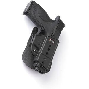 Fobus Evolution Holster CZ P-06/S&W M&P,SD9 Right Hand Roto-Paddle Attachment Polymer Black