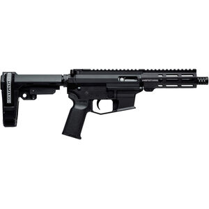 "Angstadt Arms UDP-9 9mm Luger AR Style Semi Auto Pistol 6"" Barrel 15 Rounds Uses GLOCK Style Mags M-LOK Handguard SBA3 Pistol Brace Black Finish"