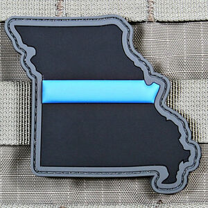 "Violent Little Machine Shop ""Thin Blue Line"" State of Missouri Morale Patch"