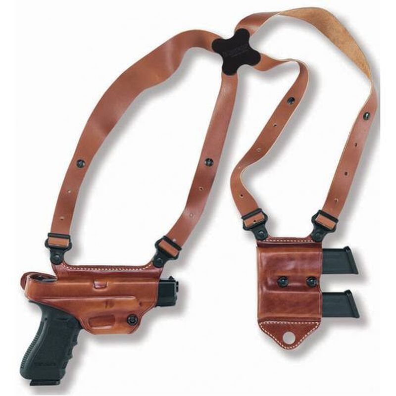 Galco Miami Classic II SIG Sauer P228 Shoulder Holster System Right Hand Leather Black MCII250B