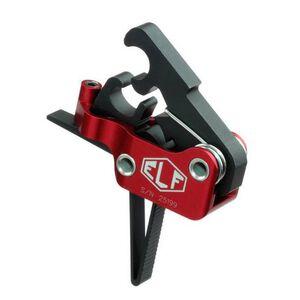 Elftmann Tactical AR-9 Match Trigger Straight Drop-In Adjustable Red/Black AR-9-S