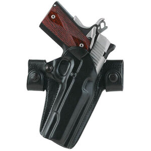 Galco Side Snap Scabbard SIG Sauer P225 Gen 2 Belt Holster Right Hand Leather Black SSR250B