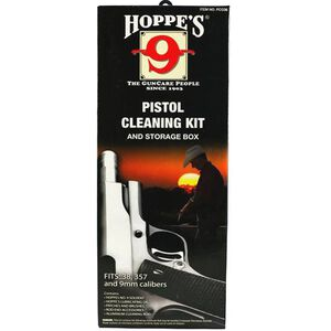 Hoppe's Pistol Cleaning Kit .38/.357/9mm/.380 Caliber Clamshell PCO38