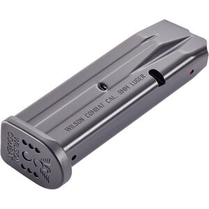 Wilson Combat EDC X9 9mm Luger 10 Round Magazine Steel Black