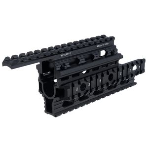 UTG PRO Made in USA AMD-65 AK Quad Rail Handguard