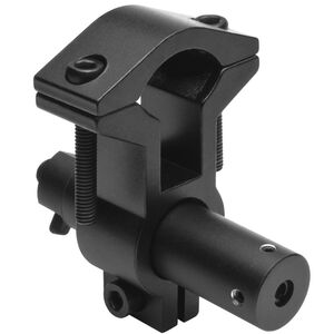 NcSTAR Red Laser with Universal Rifle Barrel Mount AG13 Batteries On/Off Toggle Black Anodized