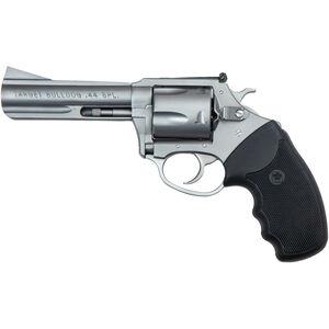 "Charter Arms Target Bulldog .44 Special DA/SA Revolver 4.2"" Barrel 5 Rounds Rubber Grip Matte Stainless Finish"