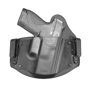 Fobus Universal Inside the Waistband Holster Right Hand Fits Medium Frame Handguns Nylon/Polymer Black