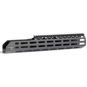 "Midwest Industries SIG Sauer MCX Virtus 15.25"" One Piece Suppressor Compatible Drop In M-LOK Compatible Hand Guard 6061 Aluminum Hard Coat Anodized Finish Matte Black"