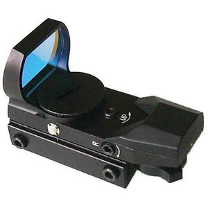 ADCO Solo Electronic Red Dot Sight Multi Reticle Mount Black SOLO