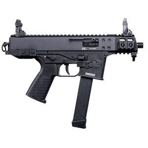 """B&T GHM9 Gen 2 Compact Semi Auto Pistol 9mm Luger 4"""" Barrel 33 Rounds GLOCK Magazine Compatible Ambidextrous Magazine Release/Safety Matte Black"""