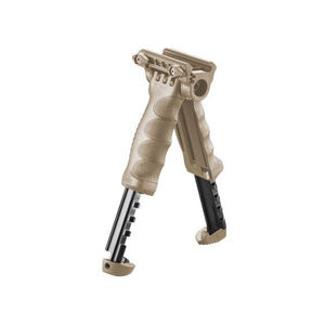 FAB Defense T-POD G2 QR Quick Release Tactical Foregrip and Bipod FDE