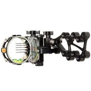 Trophy Ridge React Pro Bow Sight 5-Pin .019 Right Hand Aluminum Matte Black AS825R19