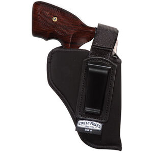 """Uncle Mike's Inside the Pant Holster with Retention Strap Size 36 Small Frame Revolvers with 2"""" Barrel Right Hand Nylon Black 76361"""