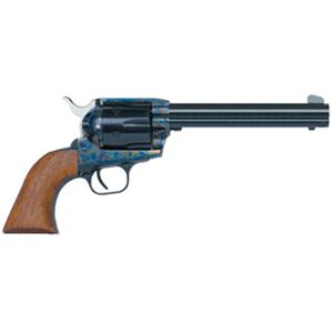 "EAA Bounty Hunter Revolver Single Action Army .45 Long Colt 7.5"" Barrel 6 Rounds Case Color Frame / Blued Finish Walnut Grips 770020"
