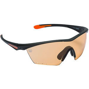 Beretta Clash Shooting Glasses Black Frame Magenta Lenses