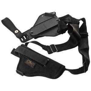Uncle Mike's Sidekick Vertical Shoulder Holster Small/Medium Revolvers Nylon Black 83001