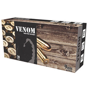 Maxim Defense Industries Venom 9mm Luger Ammunition 115 Grain FMJ 1210 fps