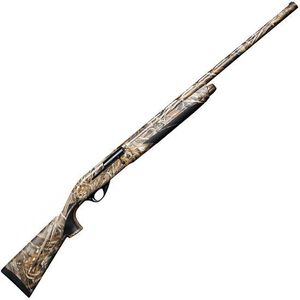 """Weatherby Element Waterfowl Max-5 Semi Automatic Shotgun 12 Gauge 28"""" Barrel 3"""" Chamber 4 Rounds FO Sight Synthetic Stock Realtree Max-5 Camo"""