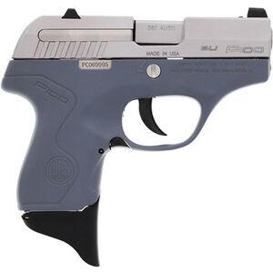 "Beretta Pico .380 ACP Semi Auto Pistol 2.7"" Barrel 6 Rounds XS Front Night Sight Two Tone Gray Polymer Frame with Inox Slide Finish"