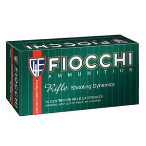 FIOCCHI 7mm-08 Remington Ammunition 200 Rounds Hornady SST 139 Grains