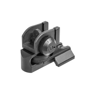 UTG AR-15 Super Slim Fixed Rear Sight, Picatinny, Black