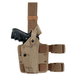 Safariland Model 6004 SLS Tactical Holster Fits SIG P226R X-Five with Surefire X300U Right Hand Hardshell STX Tactical FDE Brown