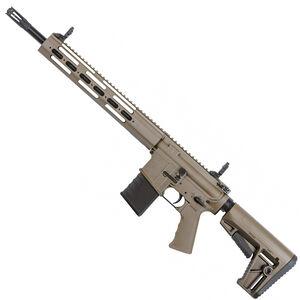 "Kriss USA Defiance DMK22C AR-15 Style Semi Auto Rifle .22 Long Rifle 16.5"" Barrel 15 Round Capacity 13"" Free Float Modular Hand Guard Pistol Grip/Collapsible Stock Flat Dark Earth Finish"