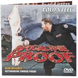 Cold Steel Apocalypse Proof DVD