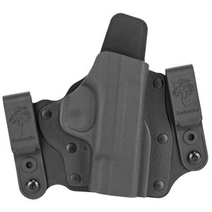 DeSantis Intruder 2.0 Holster IWB/OWB for S&W Shield 45 Right Hand Draw Kydex Black