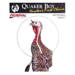 "Quaker Boy Turkey Shotgun Patterning Target 20""x20"" Paper Rolled 10 Pack 80116"