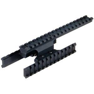 Mosin-Nagant Tactical Tri-Rail Mount Leapers UTG Aluminum Construction Removeable Side Rails Black MNT-MNTR01