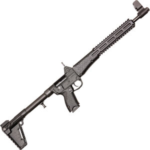 "Kel-Tec SUB-2000 G2 9mm Luger Semi Auto Rifle 16.25"" Barrel 10 Rounds M-Lock Compatible M&P Mags Adjustable Stock Black"