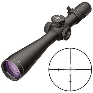 Leupold Mark 5HD 5-25x56 Rifle Scope TMR Non-Illuminated Reticle 35mm Tube 1/10 Mil Adjustments Side Focus Parallax First Focal Plane Matte Black Finish