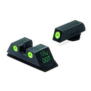 Meprolight Tru-Dot Fixed Sights For GLOCK 9mm/.357 Sig/.40 S&W/.45 GAP Green Dots ML10224