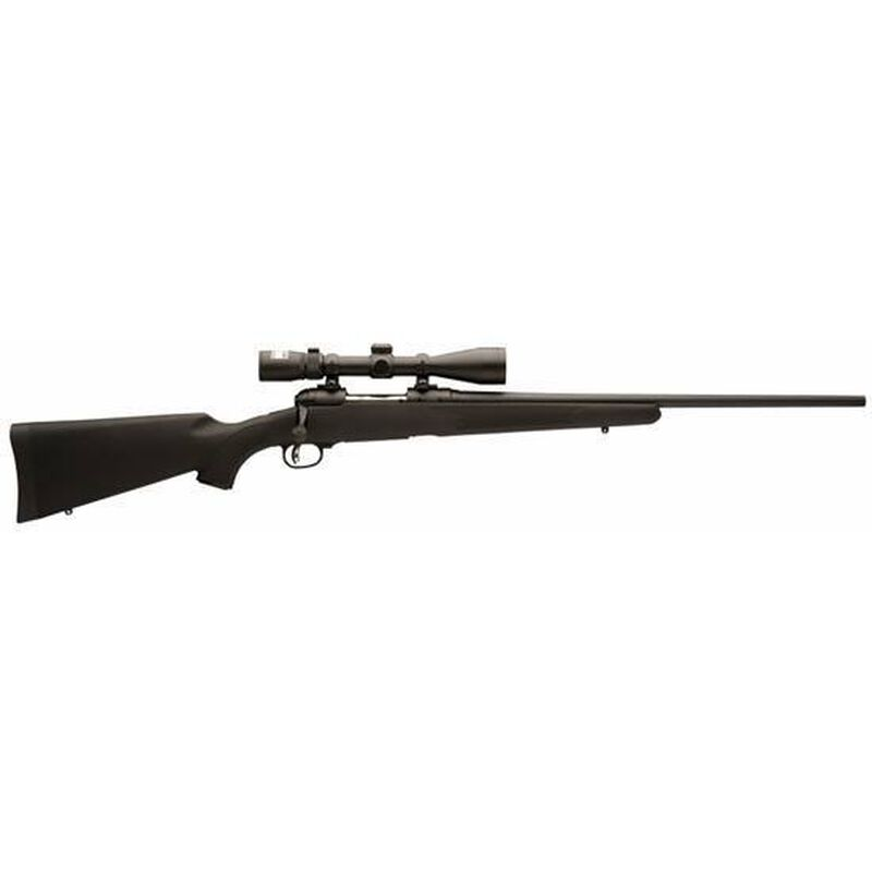 "Savage 111 Trophy Hunter XP Bolt Action Rifle 7mm Rem Mag 24"" Barrel 3 Rounds Synthetic Stock Black Finish with 3-9x40 Scope 19691"