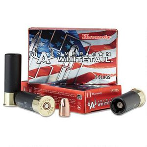 "Hornady 12 Gauge Ammunition 5 Shells 2.75"" InterLock Slug 325 Grains"