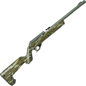 """Tactical Solutions X-Ring Takedown VR .22 LR Semi Auto Rifle 16.5"""" Threaded Barrel 10 Rounds Mossy Oak Bottomland Stock OD Green Finish"""