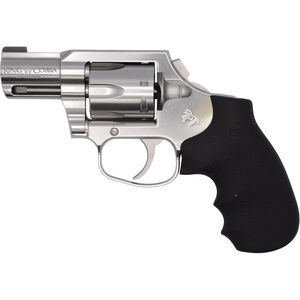 "Colt King Cobra Carry .357 Magnum DAO Revolver 2"" Barrel 6 Rounds Bobbed Hammer Hogue Overmolded Grip Brushed Stainless Finish"