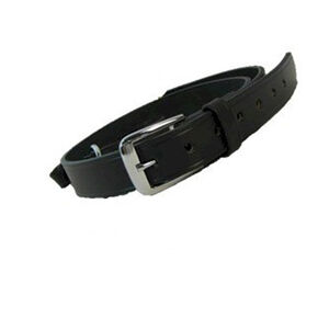 "Boston Leather Sam Browne Shoulder Strap with D-rings 1.25""  Regular Nickel Snaps Clarino 6511-2-N"