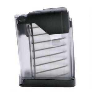 Lancer AR-15 Magazine 5.56 NATO/223 Rem 5 Rounds Polymer Translucent Clear