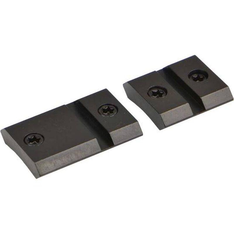 Warne Maxima Steel Two Piece Weaver Style Scope Base Remington 740/742/760 Matte Black M892/868M