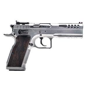 "IFG Tanfoglio Defiant Stock Master .40 S&W Semi Auto Pistol 4.75"" Barrel 12 Rounds Adjustable Sights Small Frame Hard Chromed Finish"