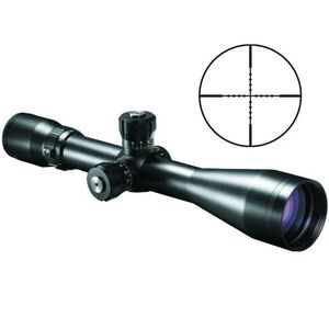 Bushnell Elite Tactical ERS 4.5-30x50 Riflescope Mil Dot Reticle 1/4 MOA Target Turrents Matte Black ET4305