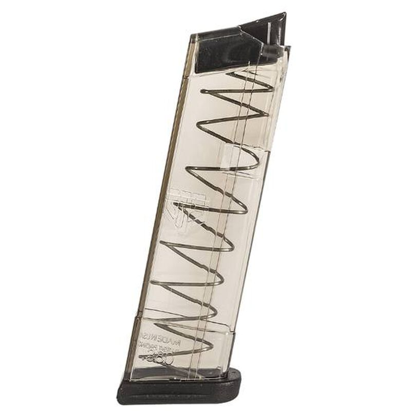 Elite Tactical Systems GLOCK 42 .380 ACP Magazine 9 Rounds Polymer Clear Smoke Finish