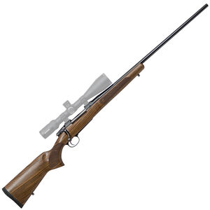 "CZ USA 557 American .243 Winchester Bolt Action Rifle 24"" Barrel 4 Rounds Turkish Walnut American Style Stock Blued Finish"