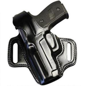 Galco FLETCH Belt Holster Left Hand Fits GLOCK 19/23 Leather Black