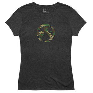 Magpul Camo Icon Women's T-Shirt Short Sleeve Color Black Size 2XL